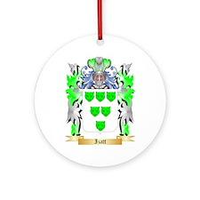 Izatt Ornament (Round)