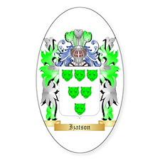 Izatson Sticker (Oval)
