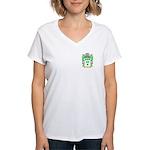 Izat Women's V-Neck T-Shirt