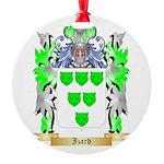 Izard Round Ornament