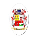 Izaguirre 20x12 Oval Wall Decal