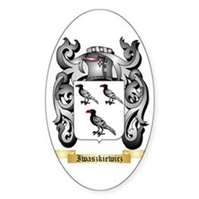 Iwaszkiewicz Sticker (Oval)
