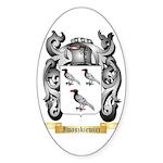 Iwaszkiewicz Sticker (Oval 10 pk)