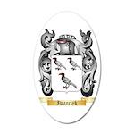 Iwanczyk 35x21 Oval Wall Decal