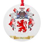 Ivy Round Ornament