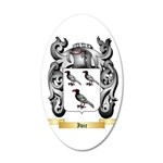Ivic 20x12 Oval Wall Decal