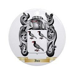 Ivic Ornament (Round)