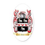 Ivet Oval Car Magnet