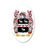 Ivet 35x21 Oval Wall Decal