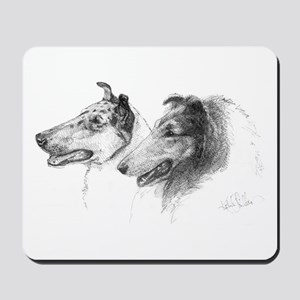 Rough and Smooth Collie Mousepad