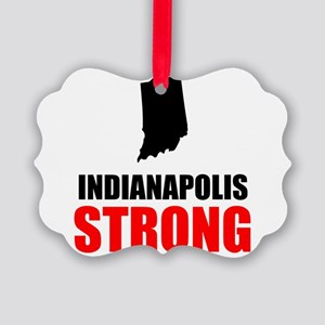 Indianapolis Strong Ornament