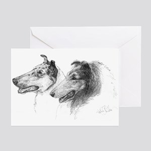 Rough and Smooth Collie Greeting Cards (10 Pk)