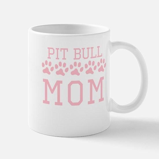 Pit Bull Mom Mugs