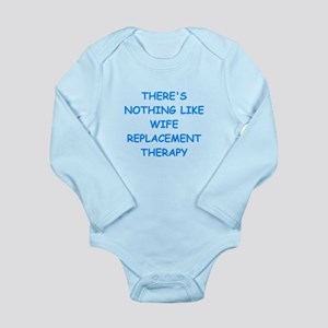 divorce Long Sleeve Infant Bodysuit