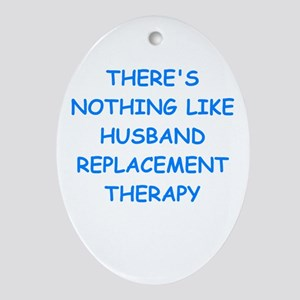 divorce Ornament (Oval)