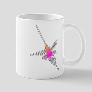 Flying Nazca Lines Hummingbird Mugs