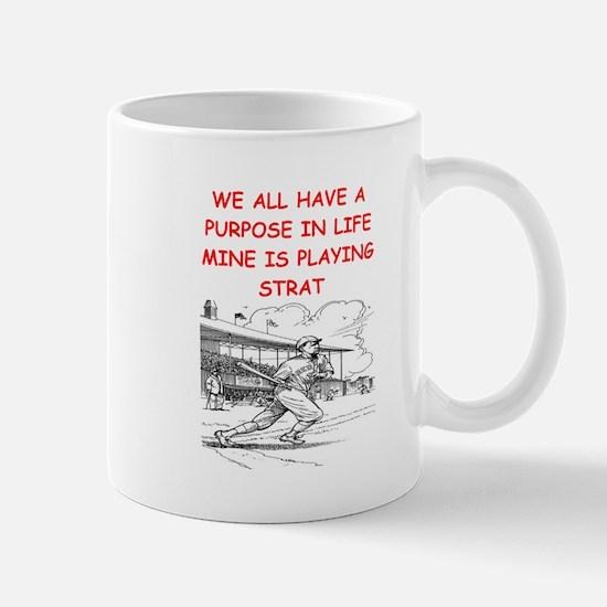 strat baseball Mug