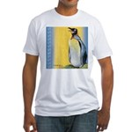 Happy Penguin Fitted T-Shirt