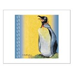 Happy Penguin Small Poster