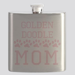 Goldendoodle Mom Flask