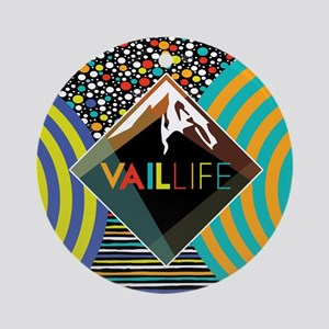 VailLIFE Addiction VII Ornament (Round)