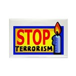 Stop Terrorism Rectangle Magnet (10 pack)
