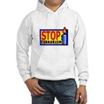 Stop Terrorism Hooded Sweatshirt