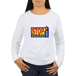 Stop Terrorism Women's Long Sleeve T-Shirt