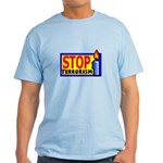 Stop Terrorism Light T-Shirt