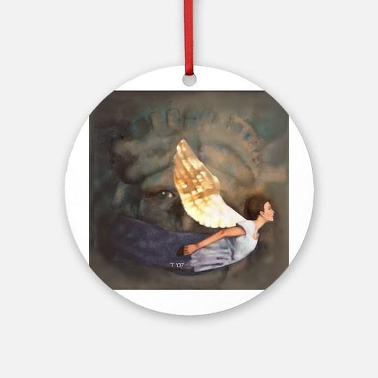 An American Tune Ornament (Round)