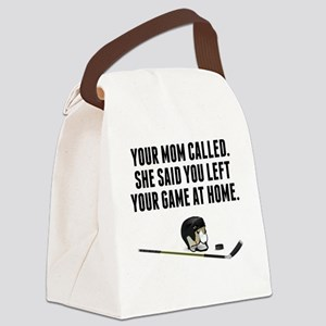 You Left Your Game At Home Canvas Lunch Bag