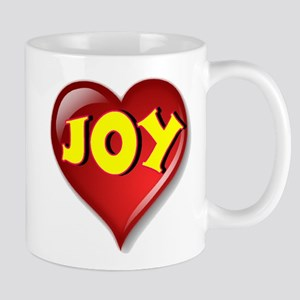 The Great Joy Heart Mug
