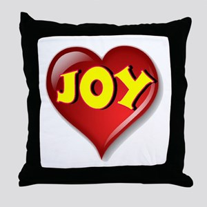 The Great Joy Heart Throw Pillow