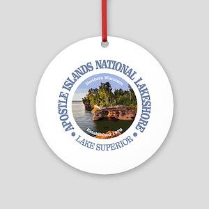 Apostle Islands NL Round Ornament