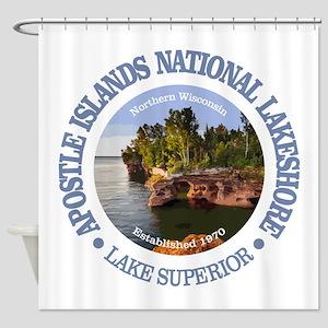 Apostle Islands NL Shower Curtain
