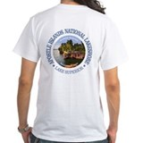 Apostle islands Mens Classic White T-Shirts