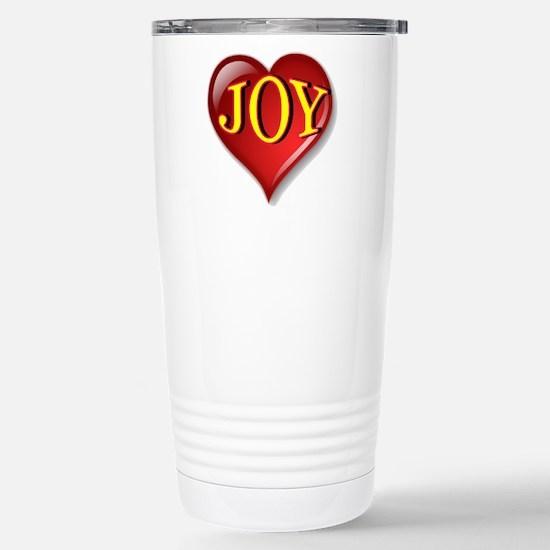 The Great Joy Heart Stainless Steel Travel Mug
