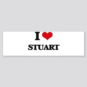 I Love Stuart Bumper Sticker
