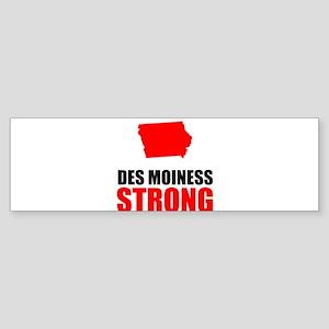 Des Moines Strong Bumper Sticker