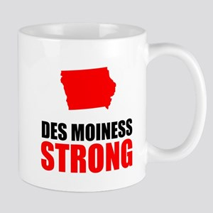 Des Moines Strong Mugs