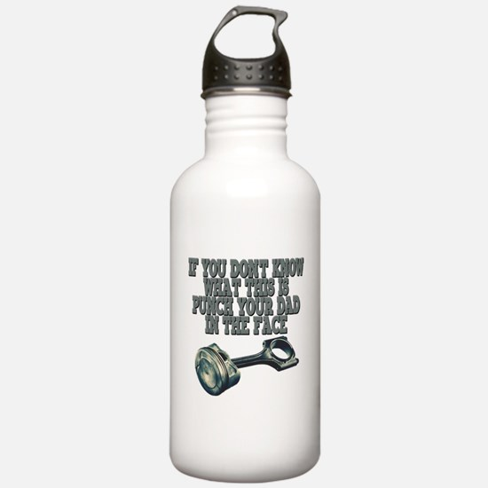 piston Water Bottle