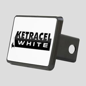 Ketracel White Rectangular Hitch Cover