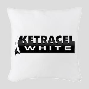 Ketracel White Woven Throw Pillow