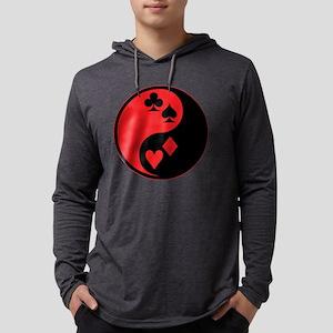Yin Yang Cards Long Sleeve T-Shirt