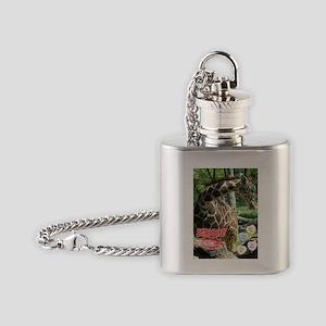 Valentine Giraffe Flask Necklace
