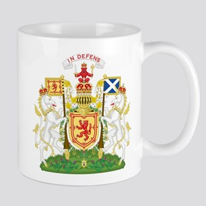 Coat of Arms Kingdom of Scotland Mugs