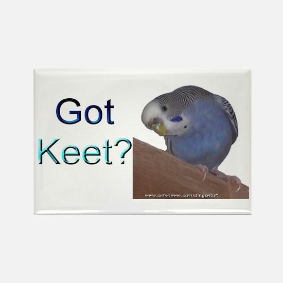 """""""Got Keet?"""" Rectangle Magnet"""