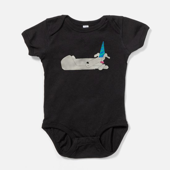 Sleeping Dog Baby Bodysuit