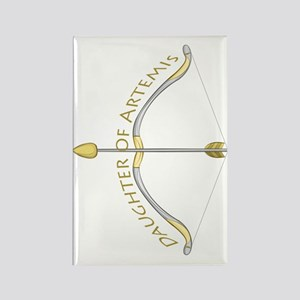 Daughter Of Artemis Rectangle Magnets