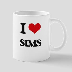 I Love Sims Mugs